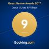 "Booking.com 2017 Award Winning ""Superb"" Hotel Oscar Suites & Village in Agia Marina, Chania"