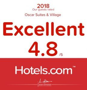 Oscar Suites & Village Hotel in Agia Marina Platanias, Chania rated 'Excellent' by Hotels.com